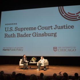 Ruth Bader Ginsburg at Harris